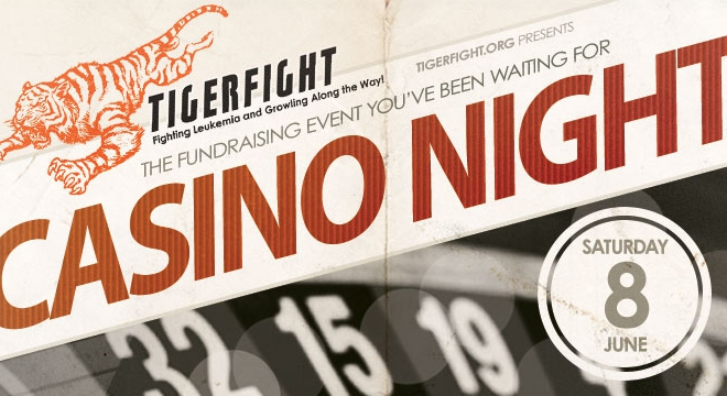 Tigerfight Casino Night Fundraiser