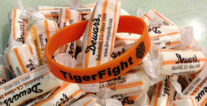 Dewar's Tiger Chews help fight Leukemia